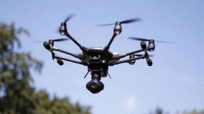 Pakistani drone seen flying again in Punjab, BSF fired