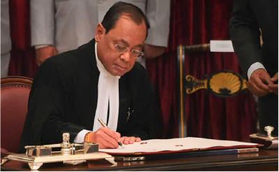 Ayodhya case: CJI Gogoi is busy writing verdict, says