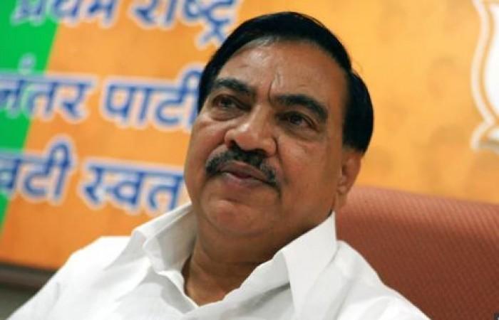 शरद पवार की मौजूदगी में NCP में शामिल हुए एकनाथ खड़से, फडणवीस सरकार में थे मंत्री