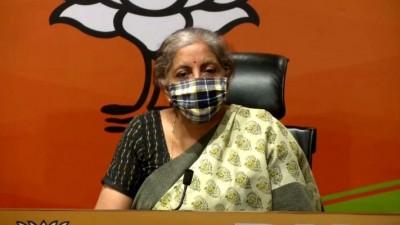 Nirmala Sitharaman slams Congress, says,