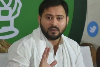 Bihar election: Technical glitch in Tejasvi Yadav's helicopter during election campaign