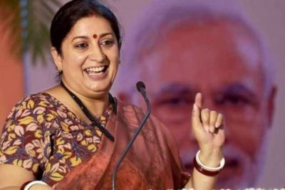 Smriti Irani speaks about the victory in Amethi