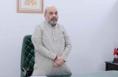 Home Minister Amit Shah arrives at cabinet meeting after recovering, shared photo
