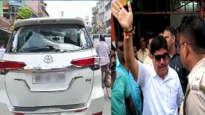 West Bengal: BJP MP Arjun Singh's car vandalized, TMC activists get alleged for the case!