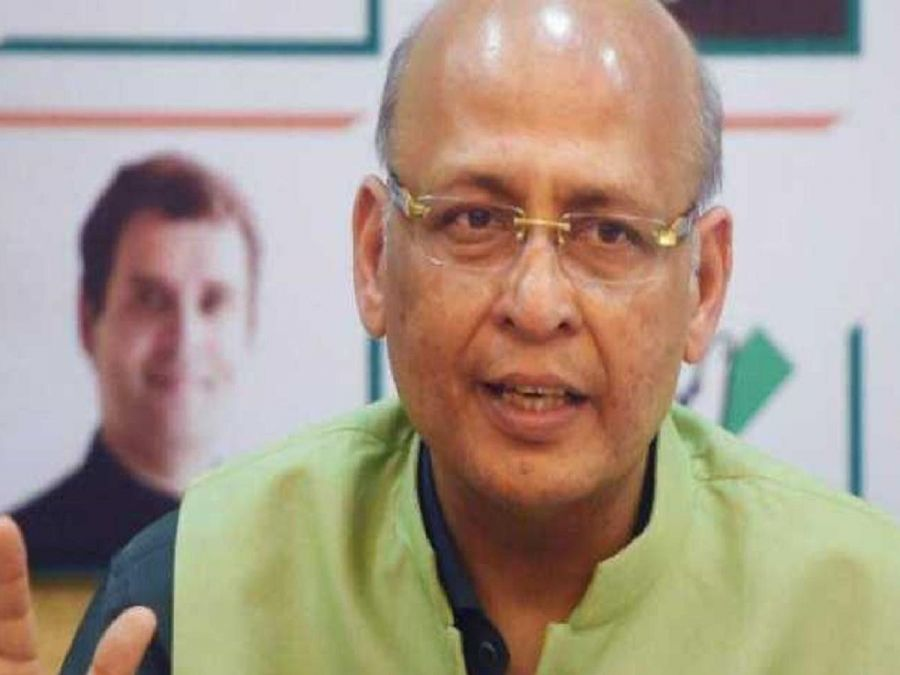 Congress spokesperson Singhvi gave a statement on making Arif Khan the Governor