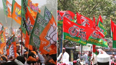 Politics in UP over a foundation slab, BJP-SP may clash