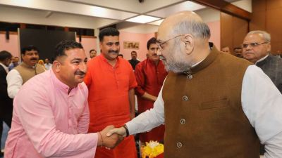 100-Member J&K Panchayat Delegation Holds Talks With Amit Shah to 'Bring Normalcy in Valley'