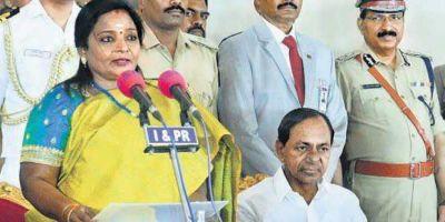 Tamilisai takes oath as governor of Telangana