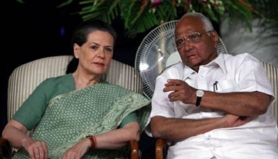 महाराष्ट्र विधानसभा चुनावः सोनिया गांधी और शरद पवार के बीच हुई बैठक, हो सकता है बड़ा ऐलान