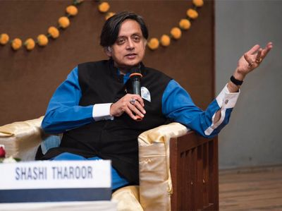 Shashi Tharoor gave a statement for Congress