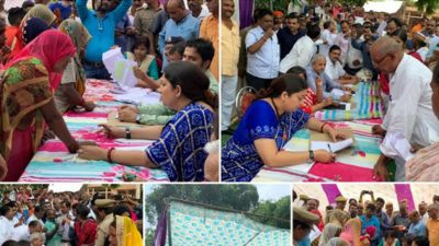 Smriti Irani starts Kitchen Garden Scheme for 638 schools in Amethi