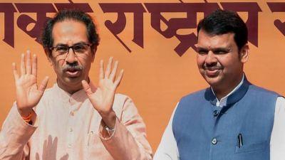 Politics intensified in Maharashtra Assembly,  BJP-Shiv Sena's tussle on seat sharing