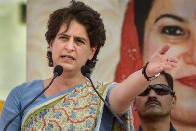 Those who vandalised Mahatma Gandhi's statue are cowards: Priyanka Gandhi on Jalaun incident