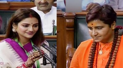 Nusrat Jahan and Pragya Thakur became MP for the first time, Modi Government gave this role to them