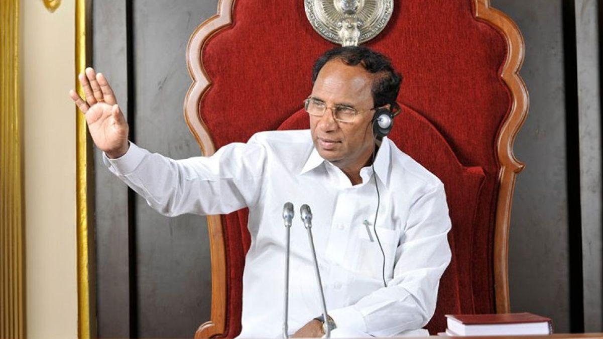 आंध्र प्रदेश के पूर्व विधानसभा अध्यक्ष शिवप्रसाद राव ने की आत्महत्या, लगा था फर्नीचर चोरी का इल्जाम