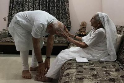 PM Modi wrote poetry for his mother, you will become emotional after reading it