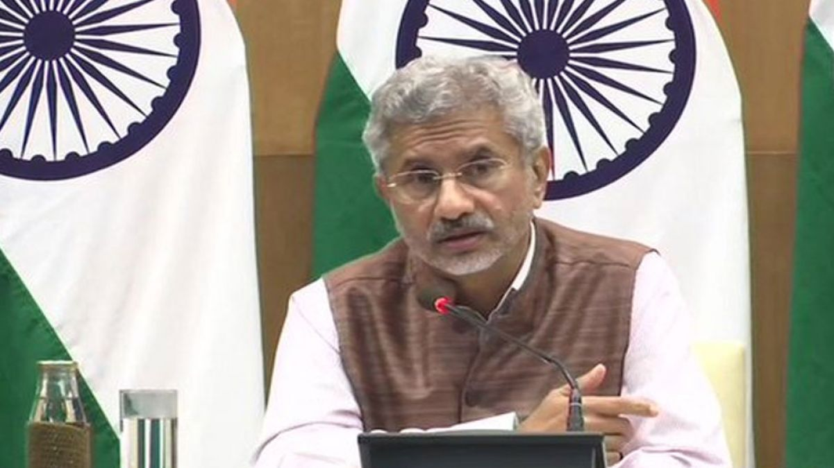 I am confident, Pok will be under our control: Foreign Minister Jaishankar