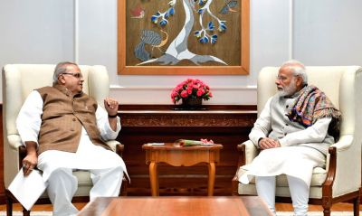 Jammu and Kashmir Governor meets PM Modi, discusses the situation in the state
