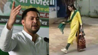 Tejashwi Yadav made a big disclosure, told the truth behind Aishwarya's crying
