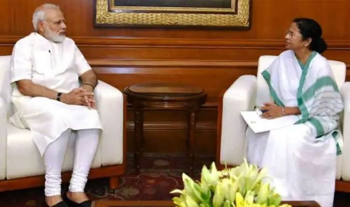 Image result for Mamta To Meet PM Modi Today