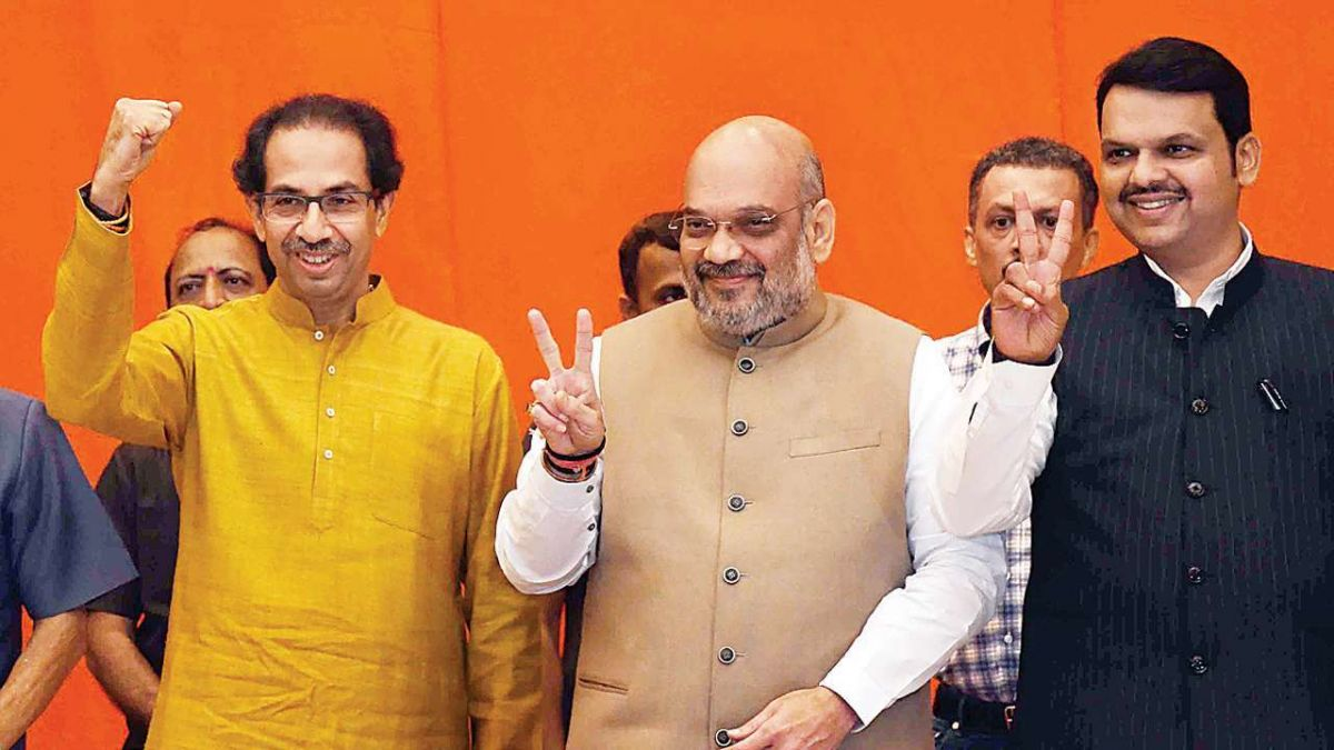 Maharashtra election: Formula of 162-126 seats decided between BJP and Shiv Sena, will be announced soon