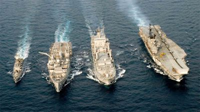 आज ख़त्म हो रहा भारत का थाईलैंड और सिंगापुर के साथ नौसेना अभ्यास