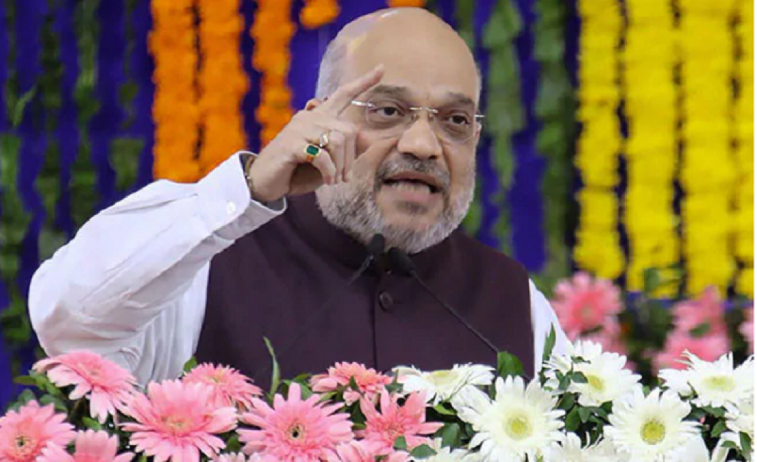 Amit Shah's election in Mumbai, said - NDA government to be formed in Maharashtra and Haryana