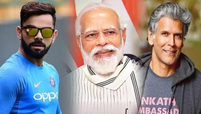 PM Modi to talk to Milind Soman-Kohli on September 24