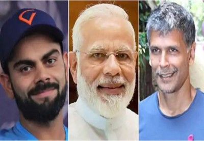 Fit India Dialogue 2020: PM Modi speaks to Virat and Milind Soman, shared fitness mantras