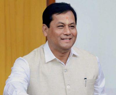 Assam CM narrowly escapes helicopter crash