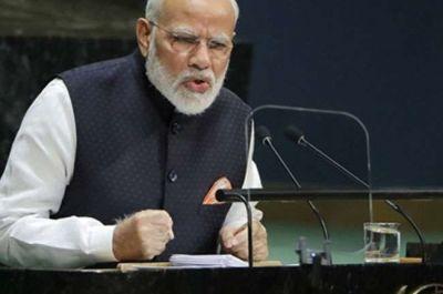 Many BJP leaders including Amit Shah congratulated PM Modi for his brilliant speech at UN