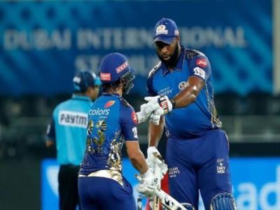 IPL 2020: Pollard-Kishan hit new record in last 5 overs