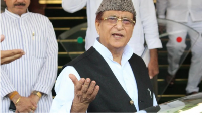 SP leader Azam Khan arrives in Rampur after two months, attends wife's nomination ceremony