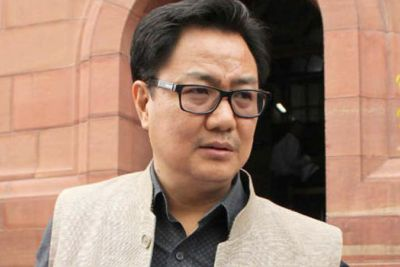 Big statement from Sports Minister Kiran Rijiju says, 'No possibility of Indo-Pak cricket match anytime soon'