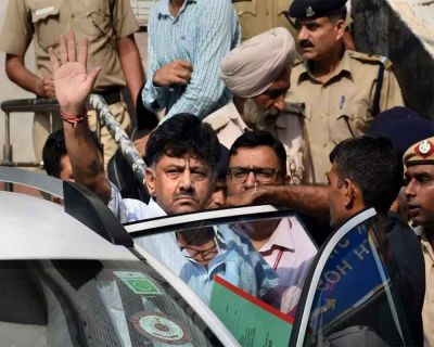 Money Laundering Case: DK Shivkumar knocked on Delhi HC's door for bail