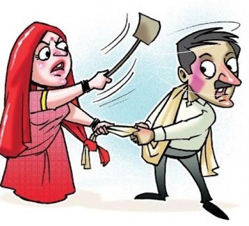 बीवी से लड़ने की शक्ति