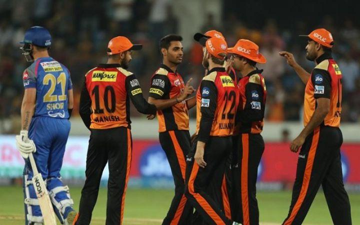 IPL 2019 : अल्जारी जोसेफ के आगे हैदराबाद के टेके घुटने, हुई ऐसी हार