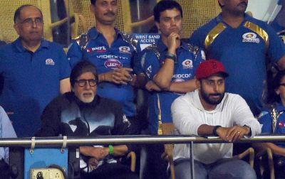 IPL 2018 LIVE : स्टार्स के बाद सुपरस्टार अमिताभ ने लगाए आईपीएल में चार चाँद