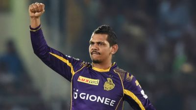 IPL2018LIVE : तूफानी पारी खेलने वाले सुनील को मिला मैन 'ऑफ द मैच' अवॉर्ड