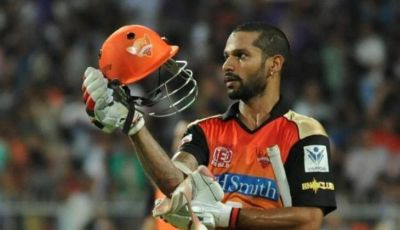IPL2018LIVE : रॉयल्स को धूल चटाने वाले गब्बर को मिला 'मैन ऑफ द' मैच अवॉर्ड