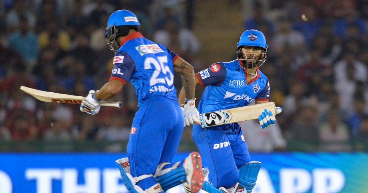 IPL 2019 : धवन की बदौलत जीत के शिखर पर दिल्ली