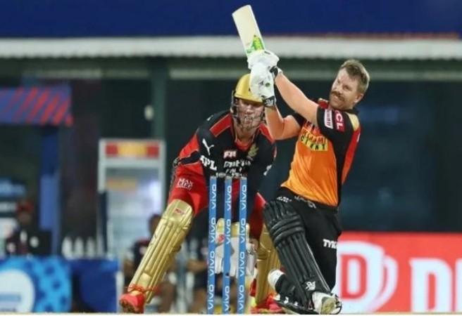IPL 2021: हार से बेहद निराश हैं डेविड वार्नर, बल्लेबाज़ों को बताया कसूरवार