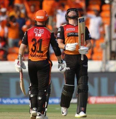 वॉर्नर और बेयरस्टो ने फिर रच दी हैदराबाद के लिए जीत की दास्तां