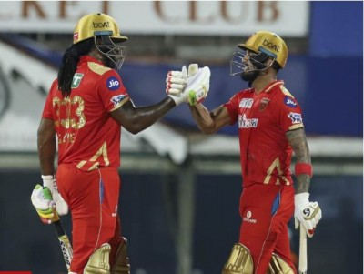 IPL 2021: Gayle and Rahul lead Punjab to victory, defeated Mumbai Indians by 9 wickets