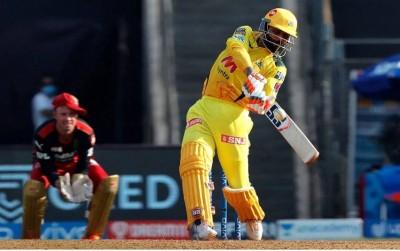 IPL 2021: Jadeja's storm 37 runs in an over