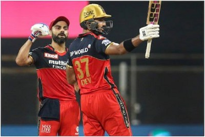 IPL 2021:  RCB reach the top of the table, know the holder of Orange and Purple Cap