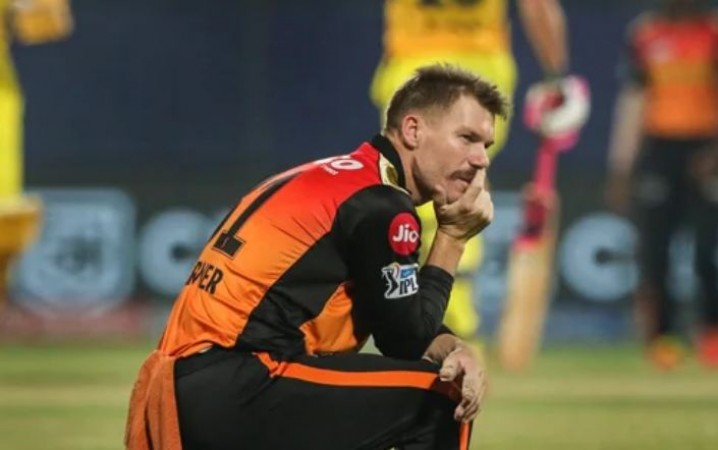 IPL 2021: डेविड वार्नर ने ली हैदराबाद की हार की जिम्मेदारी, कहा- मैं बहुत धीमा खेला...