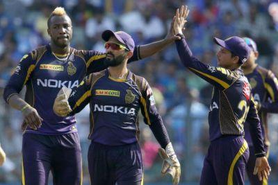 IPL 2019: रसेल के तूफ़ान में बही MI, KKR ने दर्ज की 100वीं जीत