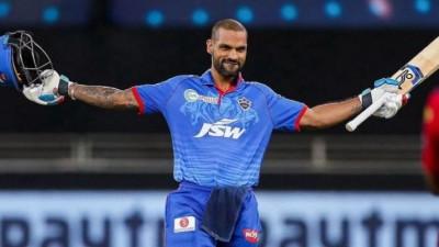 IPL 2021: Dhawan holds a big record as he scored 30 runs, beating the Chennai batsman