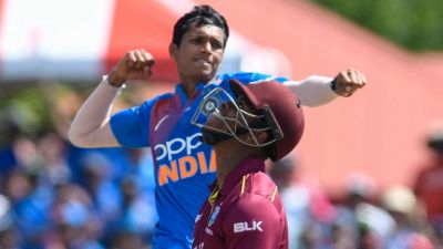 Ind vs WI: Saini creates history in the first match, became the first Indian to do this in the T20